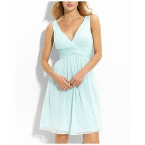 Donna Morgan Jessie Silk Chiffon Twist Dress 2